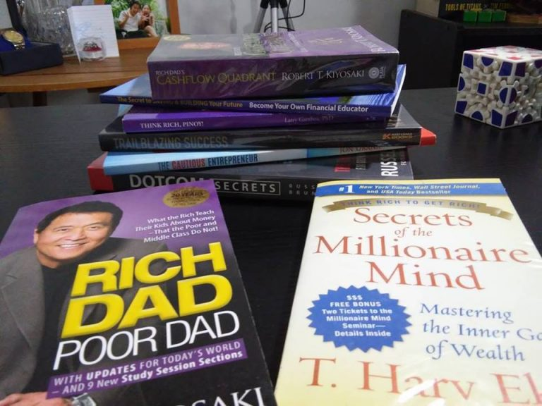Rid Dad Poor Dad and Secrets of the Millionaire Mind