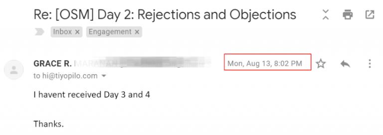 EmailNovela Sales Effect